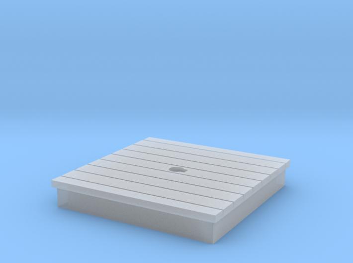 HO-Scale Water Pump Platform 3d printed