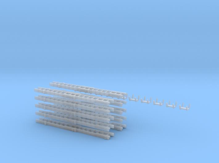 Steckleiterset B+B B+B+Fussteil Kopfteil10x 3d printed