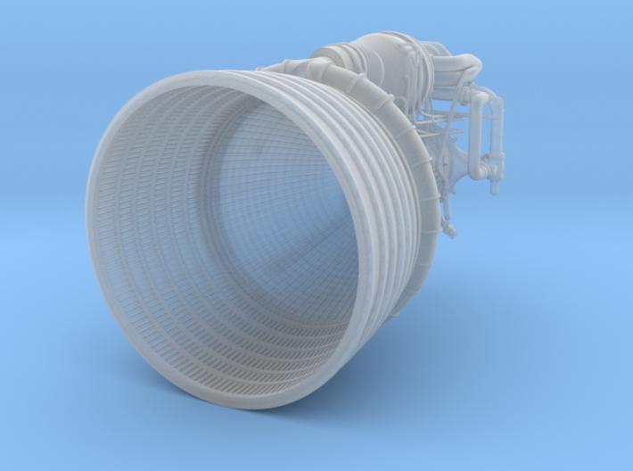 F1 3D Engine 1:48 3d printed