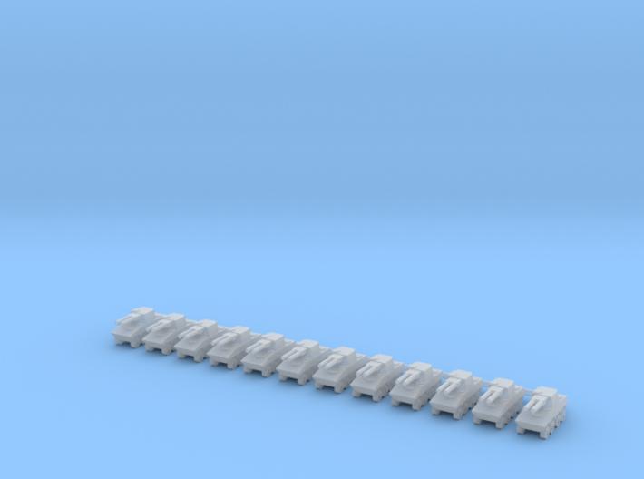 1/600 VBCI AMOS (x12) 3d printed