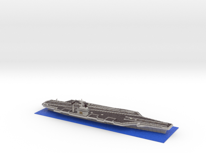 Leviathan Aircraft Carrier 3d printed