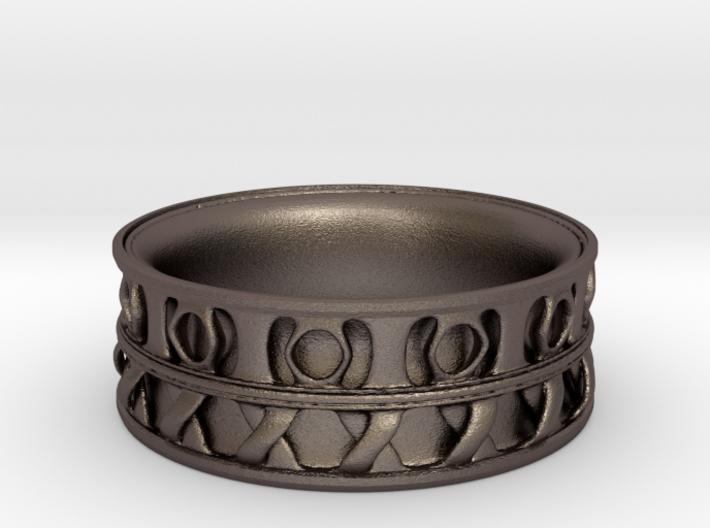 King Ring 1 3d printed