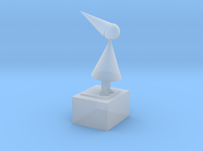 The Silent Princess From Game Monument Valley Ipad 3d printed