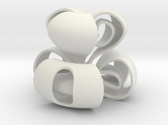 Random Curve 3d printed