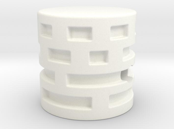 Maze Style knob 3d printed