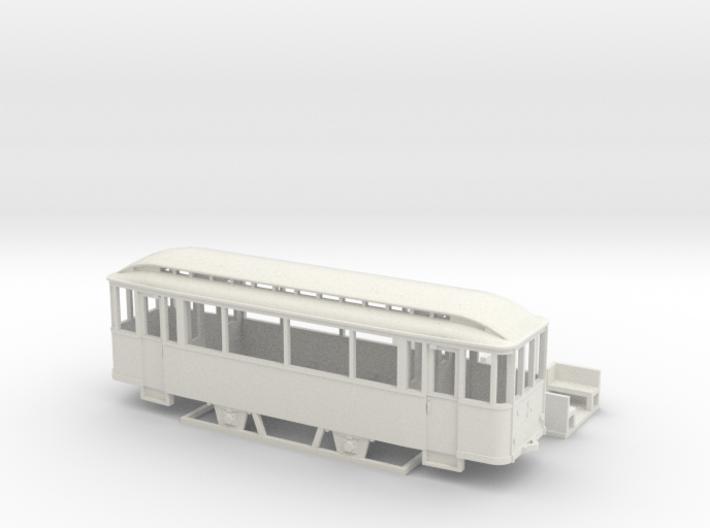 Tram Leipzig Typ 56 Pullmanbeiwagen (1:120) TT 3d printed