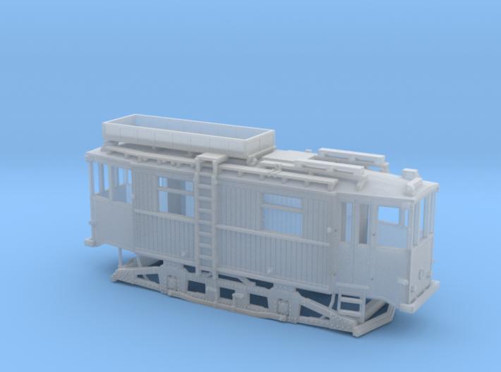 Tram Leipzig ATW 5060 Turmwagen (1:120) TT 3d printed