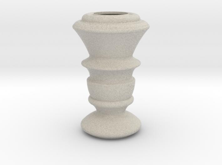 Flower Vase_19 3d printed