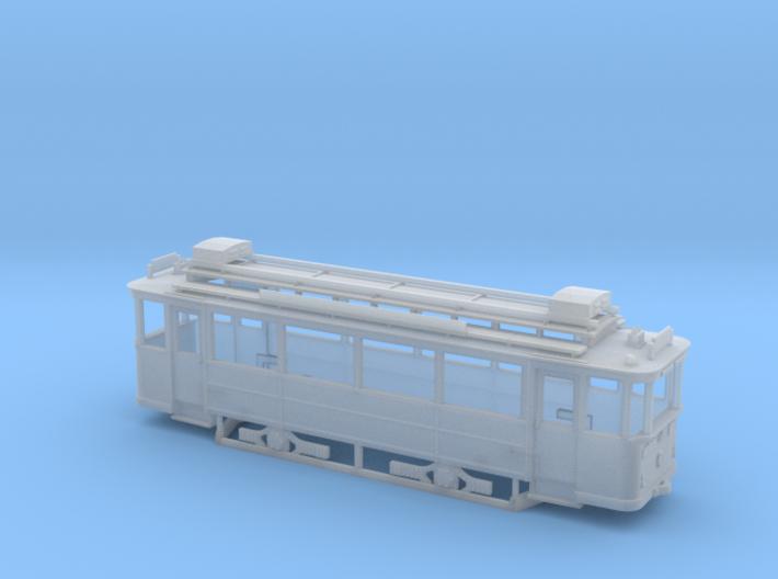 TW9 der Lockwitztalbahn in Spur H0m (1:87) 3d printed