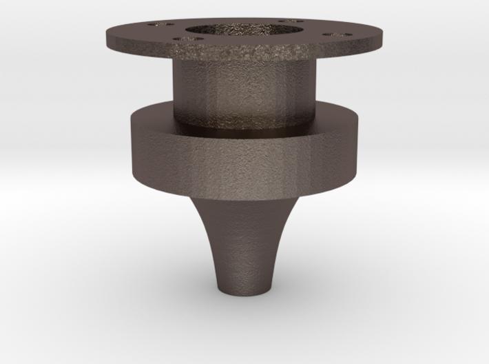 Aerospike. Rocket engine testing. Stainless Steel. 3d printed