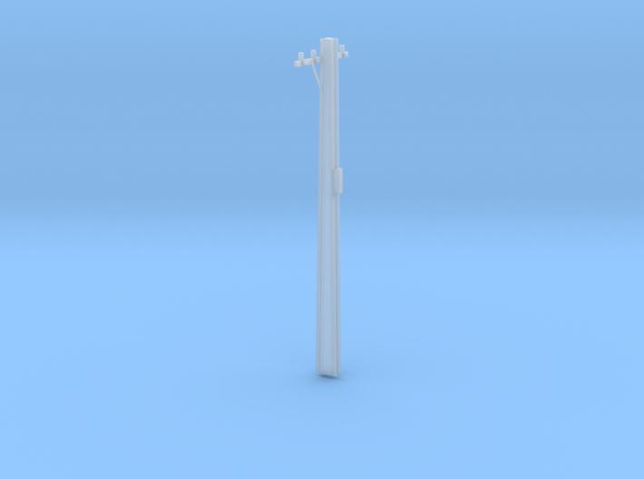HO Scale 1:87 9m High Stobie Pole 3d printed