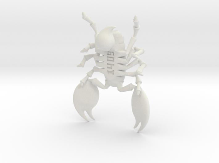 scorpion or hd 3d printed