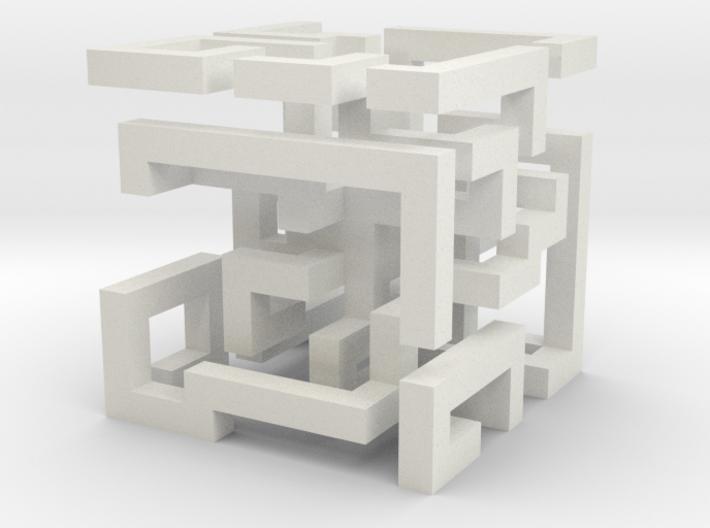 cube_03 3d printed
