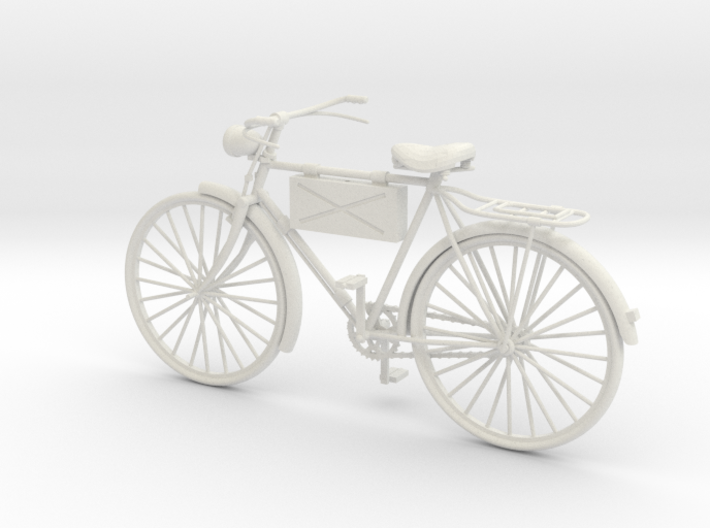 1:18 German Infantry Scout Bicycle 3d printed