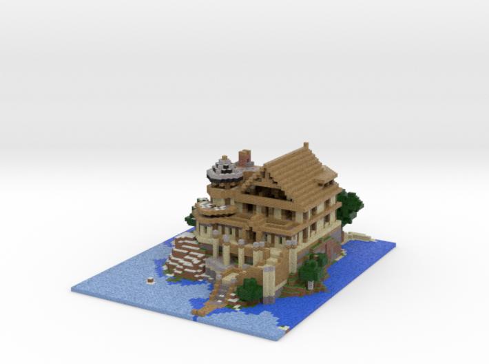 Chateau de Resquer 3d printed