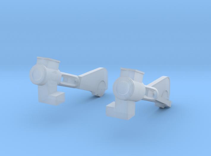 HOn30 PBR 25 Ton Climax #1694 v2_Pistons 3d printed