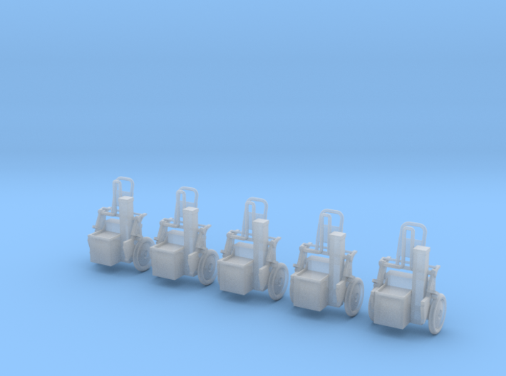 Sicherheitshaspel 5x 3d printed