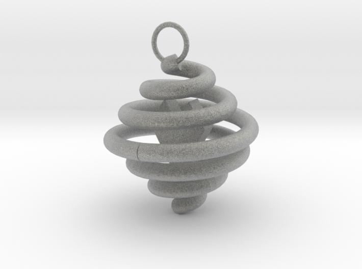 Spiral Pendant by Ben Hart 3d printed