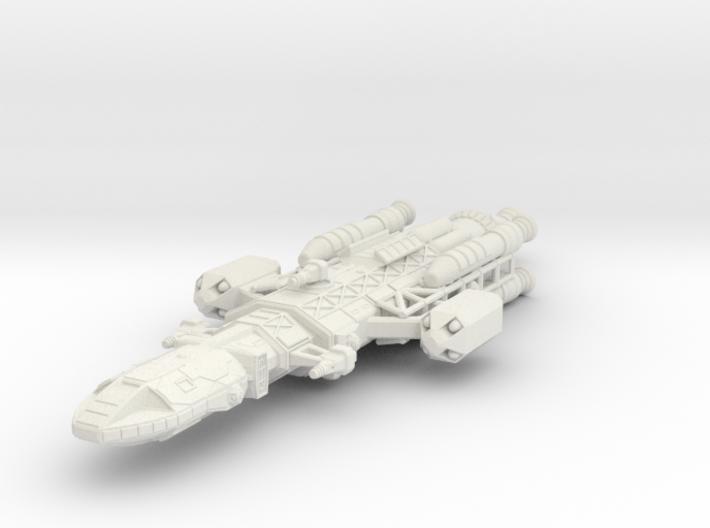 Owl SHADO patrol ship 3d printed
