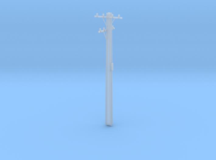 10m HO Scale Stobie Pole 3d printed