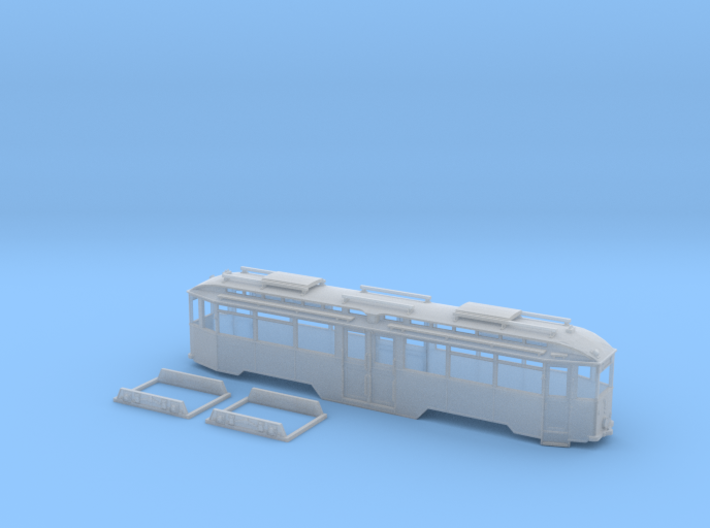 Tram Leipzig Typ 29 Spur N (1:160) Mitteleinstiegs 3d printed