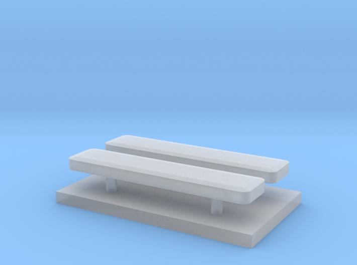Whelen lightbar 16,1 mm 2 stuks 1/87 3d printed