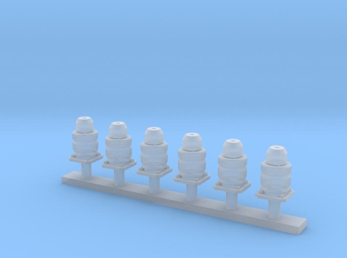 1/35 connectors part 1 3d printed