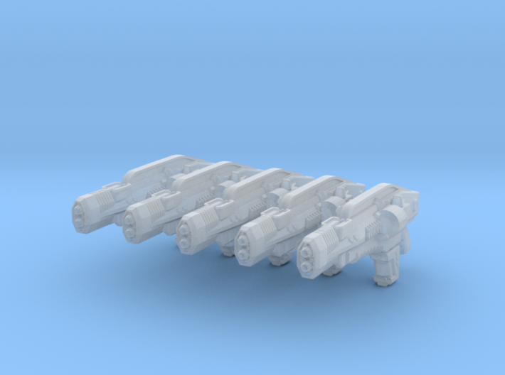advanced thermal laser rifle 002a generic 3d printed