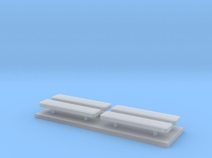 Whelen lightbar 16,1 mm 4 stuks 3d printed