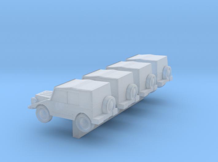 Z Scale DKW Munga 3d printed
