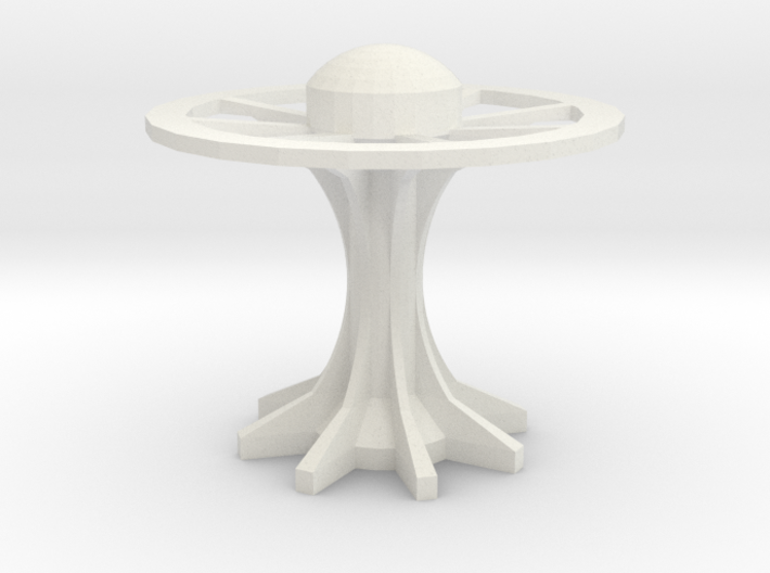 disk arcology or space station4 3d printed