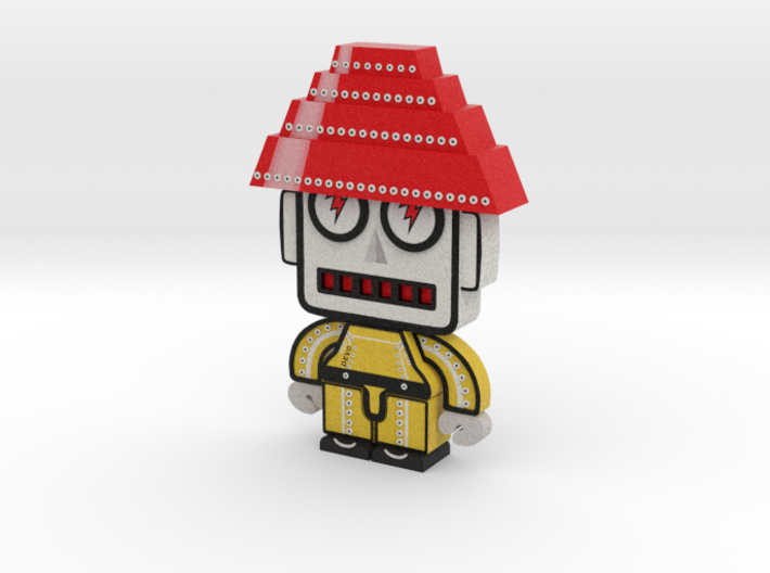 DevoBot Series 1 : Yellow Bio Suit Jerry 3d printed