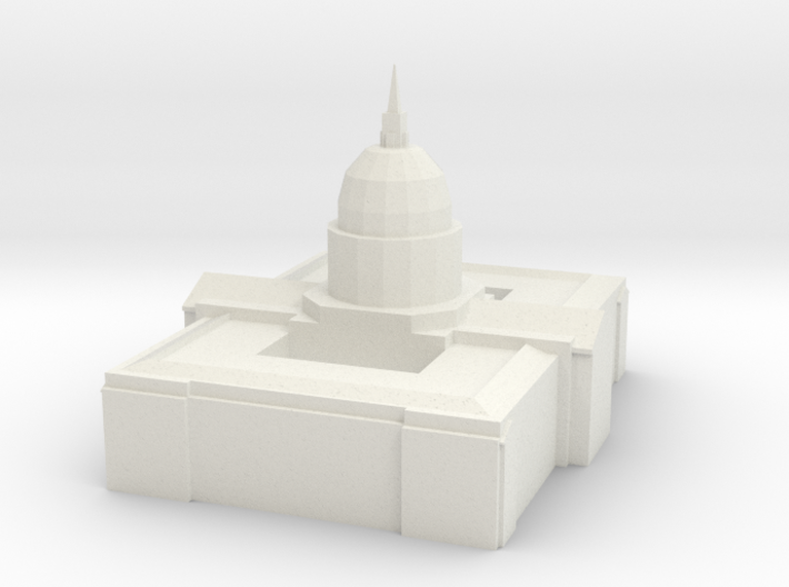cityhall 3d printed