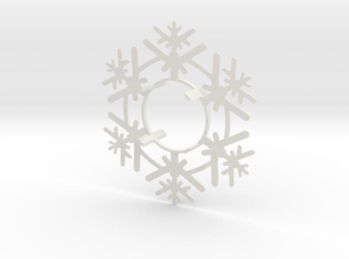Snow Flake 2 3d printed