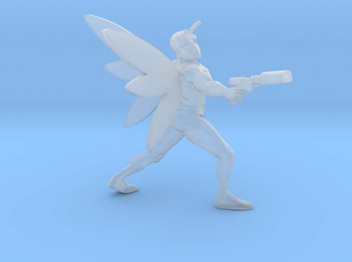 Bodacious Bug Man (Wings) 3d printed