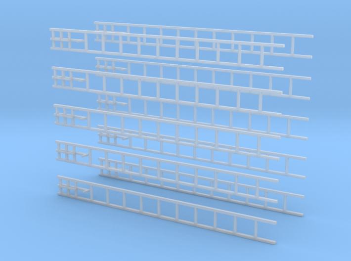 Hakenleiter-Set (Alu) 3d printed