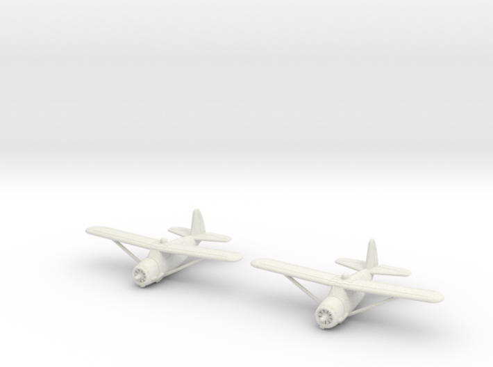 1/200 Curtiss O-52 Owl (x2) 3d printed