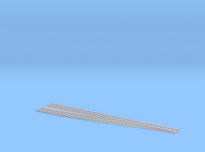 Single Switch L / Einfache Weiche L 1/285 3d printed