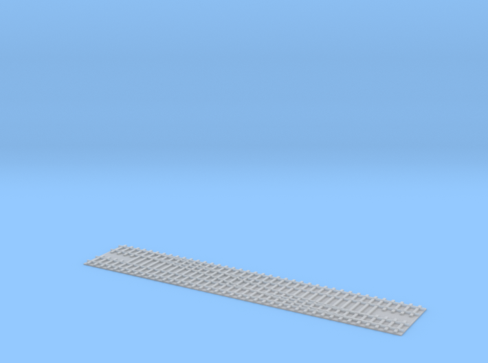 Doubletrack Switch R / Weiche R Doppelgleis 1/285 3d printed