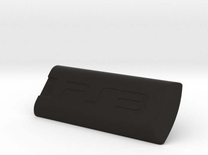 PS3 bluray remote battery cover 3d printed