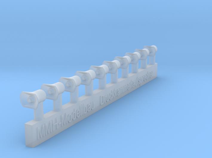 Druckkammerlautsprecher groß für Düsseldorfer HLF 3d printed