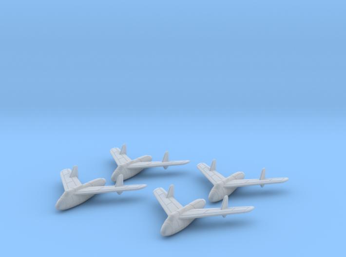 1/285 Junkers EF128 (x4) 3d printed