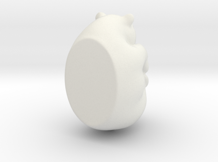 bear curled 3d printed