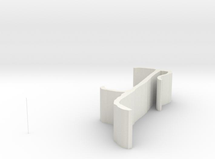 valance clip 3d printed
