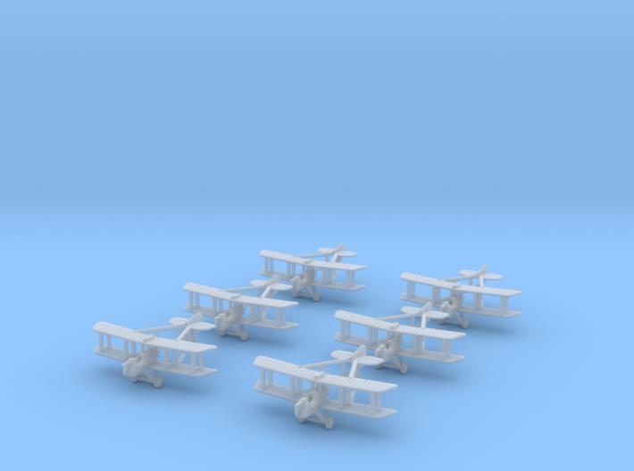 1/350 Airco DH-2 (x6) 3d printed