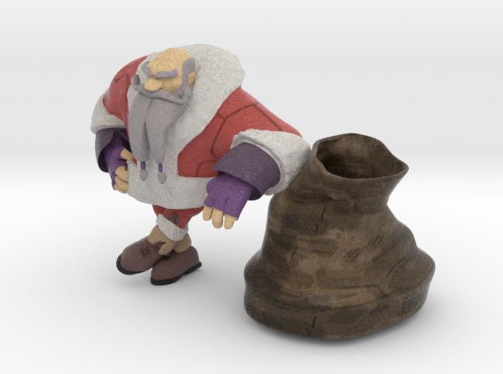 Santa 3d printed