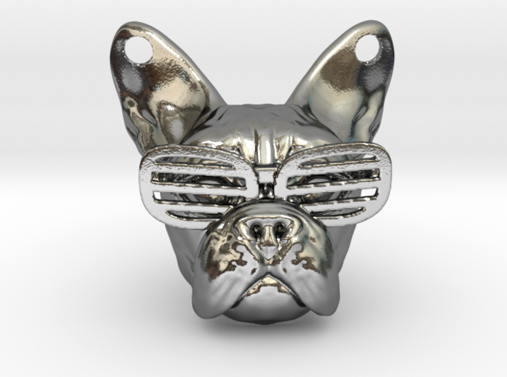 French Bulldog Pendant 3d printed