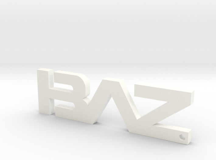 BAZ Keychain Small 3d printed