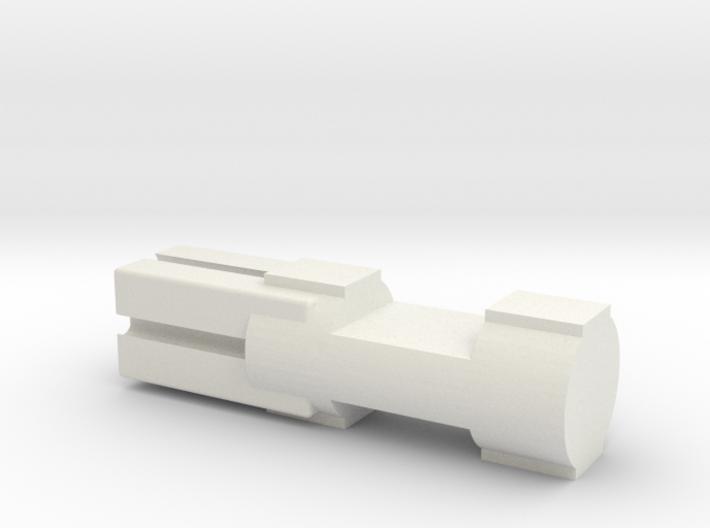 Lincoln Logs to Fischertechnik uck 06f01m 3d printed