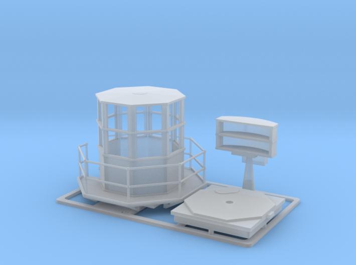 Radar 271 1/72 3d printed